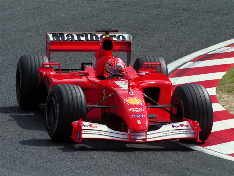 ferrari f2001 michael schumacher - photo #44