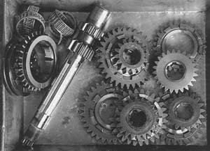 formule 1 - la transmission - boite de vitesse